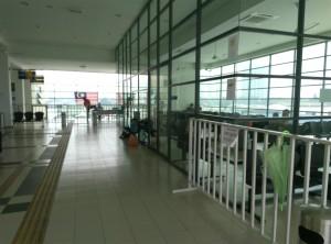 Кондиционируемый зал ожидания на вокзале Butterworth