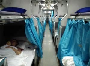 Вагон поезда Малайзия-Таиланд